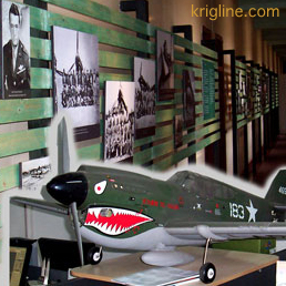 There was a Flying Tigers base in Kunming during WW2.